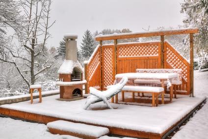 Gartenmöbel winterfest machen ist einfach