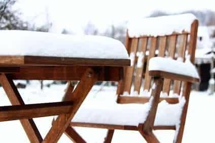 Gartenmöbel schon im Winter kaufen?