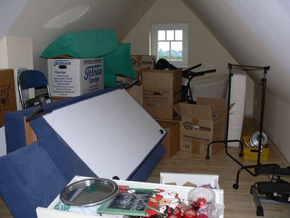 Alternative Lagermöglichkeiten zu einem Keller