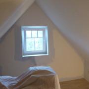 Gästezimmer teilweise gestrichen