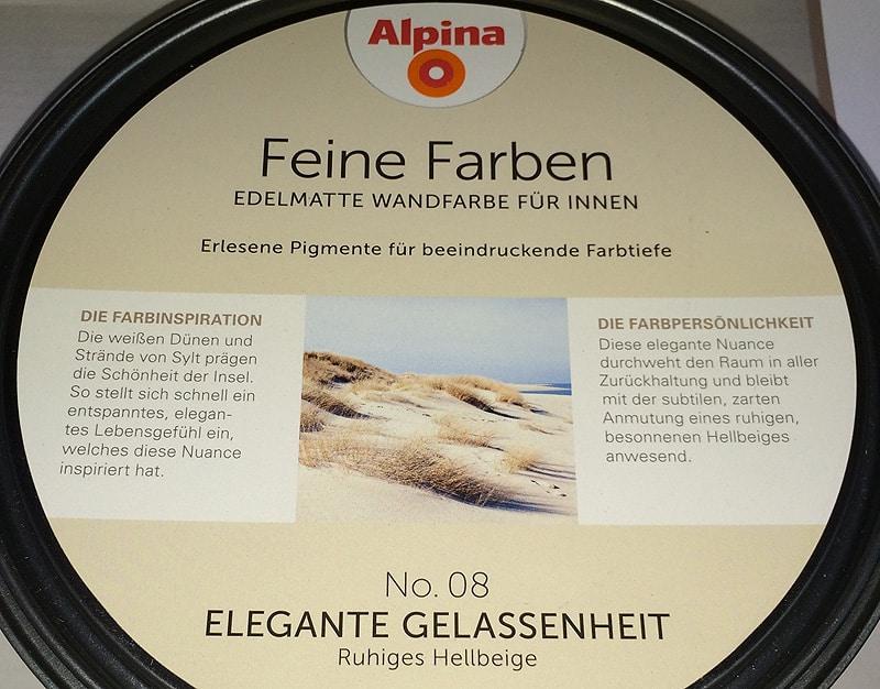 Kreative Raumgestaltung mit Alpina Feine Farben