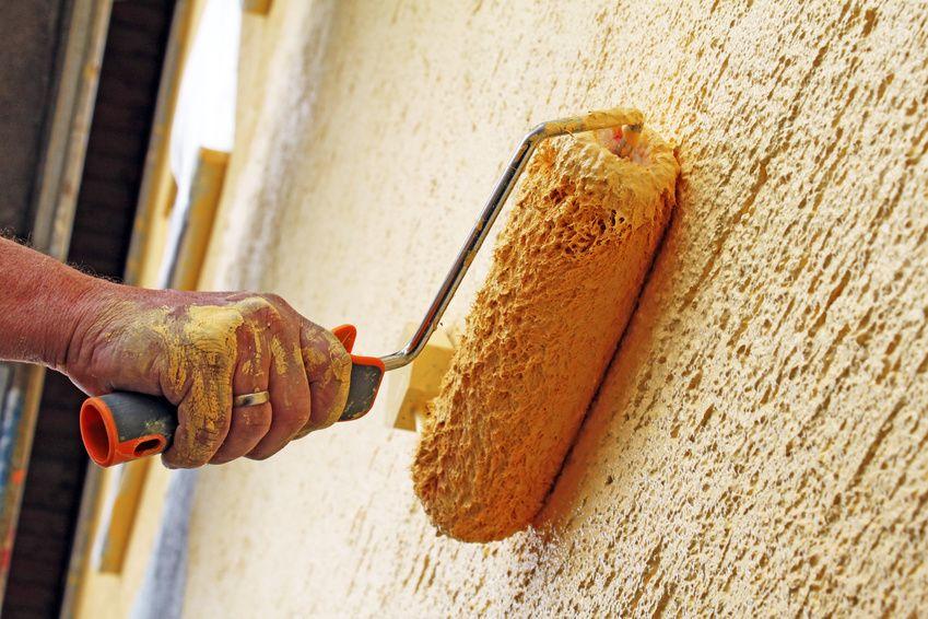 Vliestapete L?st Sich Beim Streichen : Fassadenanstrich – Das Haus erstrahlt in neuem Glanz ? Heimwerker