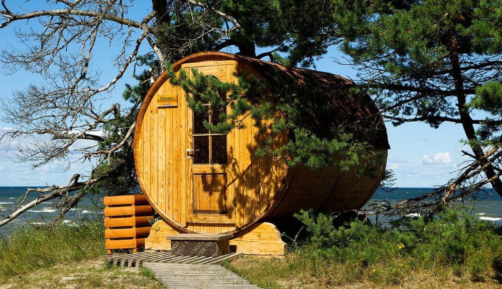 Eine Sauna im eigenen Garten
