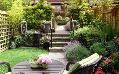 Garten für den Sommer ansprechend gestalten
