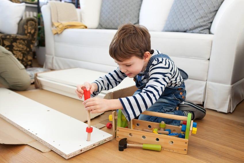 Geeignetes Werkzeug für Kinder