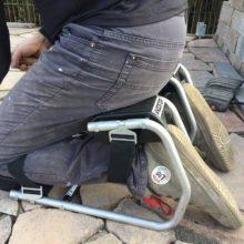 Kneester Sitzfläche im Einsatz