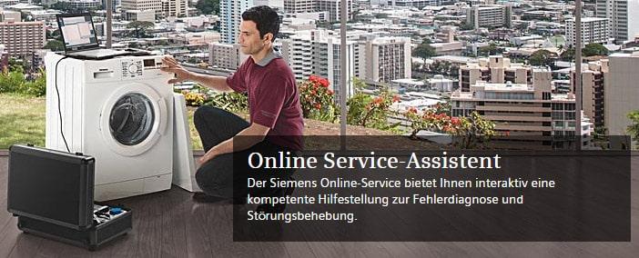 Siemens Online Service-Assistent