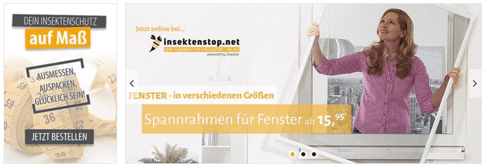 Teaser Insektenstop.net