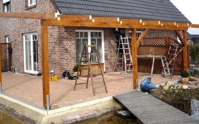 Terrassenüberdachungen sorgen für Schutz vor Sonne und Regen