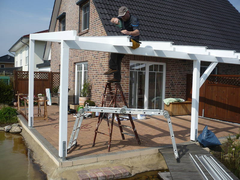 TerrassenUberdachung Holz Aufbau ~ Terrassenüberdachung kaufen oder selber bauen ⋆ Heimwerker Aktuell