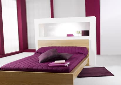 Traumhaftes Bett im Schlafzimmer