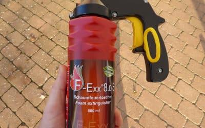 Klein-Feuerlöscher für den Hausgebrauch – universell und handlich