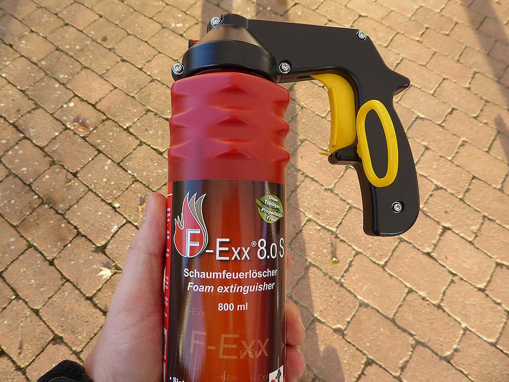 F-Exx 8.0 S - klein und handlicher Feuerlöscher