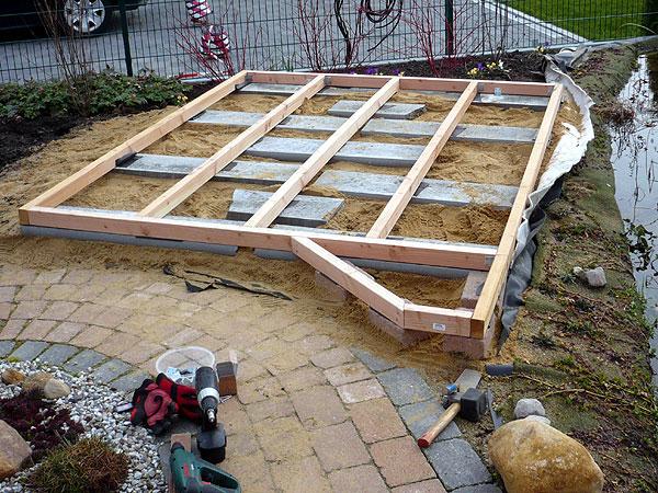 Terrasse Holz Unterbau Abstand u2013 Bvrao com