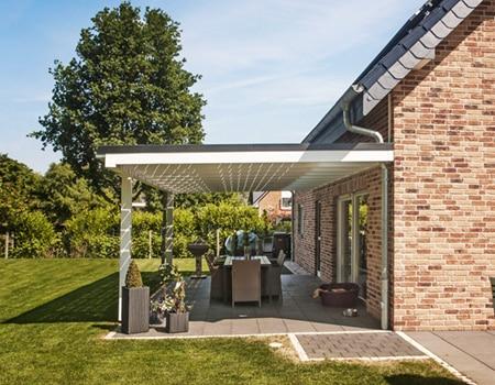 Terrassenüberdachung von Solarcarporte